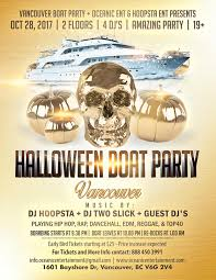 halloween boat party vancouver tickets in vancouver bc canada