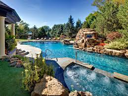 Backyard Landscaping With Pool by Barrington Pools Award Winning Inground Swimming Pools