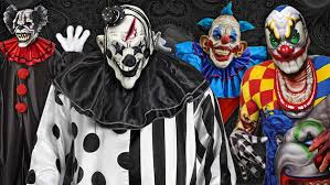 Scary Halloween Clown Costumes Scary Costumes Scary Halloween Costume Kids Adults