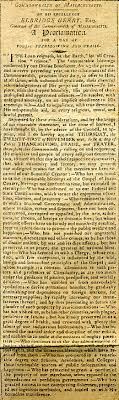 proclamation thanksgiving day 1811 massachusetts wallbuilders