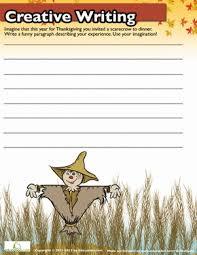 thanksgiving writing worksheet thanksgiving writing writing