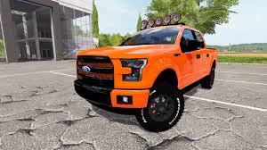Ford Raptor Orange - f 150 raptor 2015 for farming simulator 2017