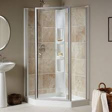 How To Frost A Bathroom Window Choosing The Right Shower Door At The Home Depot