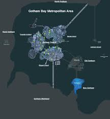 Map Of Gotham City Batman Arkham Knight Discussion Thread Page 30 Tigerdroppings Com