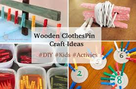 15 wooden clothespin crafts activities u0026 ideas k4 craft