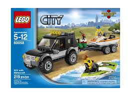 lego jeep set lego city 60058 suv with watercraft 219pcs retired set ebay