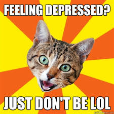Depressed Cat Meme - feeling depressed cat meme cat planet cat planet