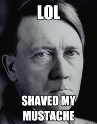 Meme Mustache - hitler without a mustache memes quickmeme