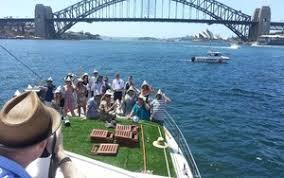 sydney harbour cruise janthe sydney harbour cruises in drummoyne sydney nsw tours