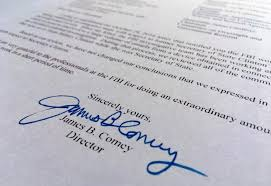 Change Of Address Announcement Letter Read The Full Text Of James Comey U0027s Letter On The New Clinton Emails