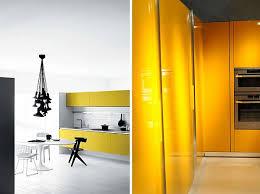 modern kitchen design yellow contemporary kitchen design focus on colors schemes