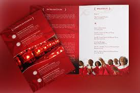 christmas concert program template christmas cantata bi fold program templ design bundles