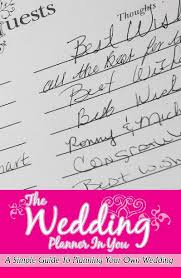 Planning Your Own Wedding The Wedding Planner In You By Latoy Sawyer Wedding Blurb Books