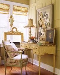 French Country Rooms - linen tablecloth beautiful interiors rustic pinterest