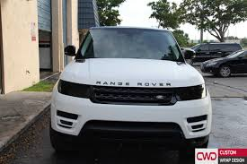 matte range rover range rover matte white and gloss black wrap