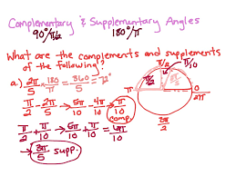 complementary of pink showme multi step supplementary complementary angles