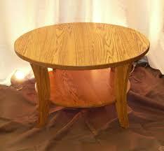 antique round coffee table brown minimalist wooden antique round oak pedestal coffee table