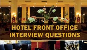 Hotel Front Desk Supervisor Job Description Hotel Front Office Interview Questions Hospitalitycareer