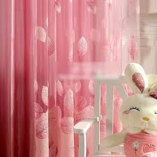pink sheer curtains cheap for girls room