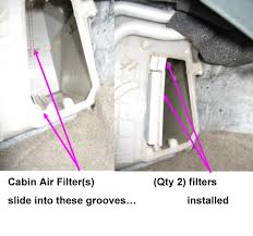 how to replace the micron air cabin filter