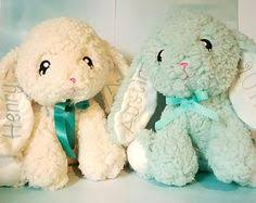 personalized easter bunnies personalized easter bunny embroidered easter by carouselcreative