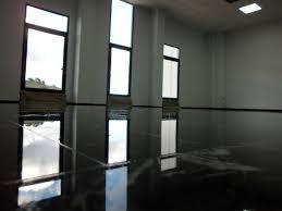 black marble flooring black marble floor shiny again bodegas volver pulidos idella