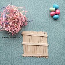 popsicle stick bird u0027s nest crafts planning playtime