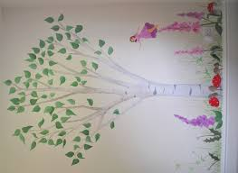 fairy mural inspired spaces fairies and woodland animals
