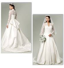 diy wedding dress in kate middleton style from butterick patterns