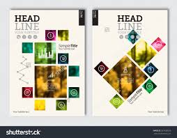 Catalogue Cover Page Design Templates by Business Brochure Design Template Vector Flyer Layout Blur
