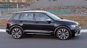 volkswagen tiguan 2016 r line vw tiguan r spied again
