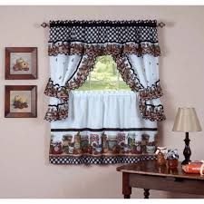 Jc Penny Kitchen Curtains by Jcpenney Kitchen Curtains Tuscany Pattern Valances And Tiers With