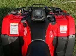 2014 honda rancher first ride photos motorcycle usa