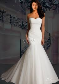 wedding dresses cheap online cheap wedding dresses discount strapless mermaid tulle wedding