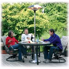 Patio Heater With Table Soleus Air Floor Halogen Patio Heater With Built In Safety Switch