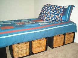 Making A Platform Bed by How To Make A Platform Bed With Storage Hunker