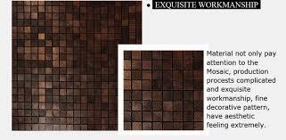metal kitchen backsplash tiles royllent acp mosaic beautiful adhesive decor metal wall
