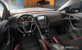 opel astra interior 2014 opel astra receives new diesel engine intellilink technology