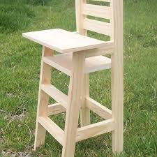 Wooden Doll High Chair Great Wooden Doll High Chair Plans And Doll High Chair Plans