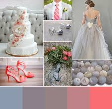 Dove Gray Wedding Dress Coral And Dove Gray Wedding Inspiration Weddbook