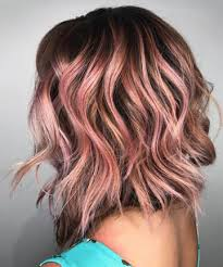 rose gold hair color incandescent rose gold highlights 19 rose gold hair color looks