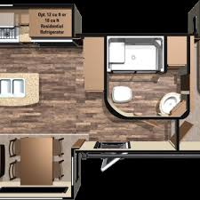travel trailer floor plans with washer and dryer http