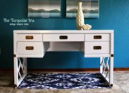 the turquoise iris furniture u0026 art white campaign desk in