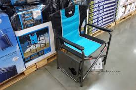 Folding Directors Chair With Side Table Costco Sale Timber Ridge Director U0027s Chair With Side Table