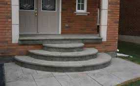 Cement Stairs Design I Would Like This A Whole Lot Better If The Top Step Was As Wide
