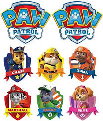amazon paw patrol embroidered iron sew patch
