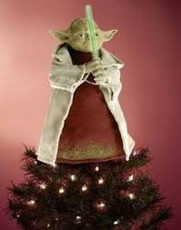 10 wars yoda 4 point lighted tree topper