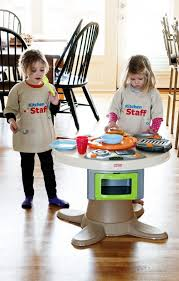 Fisher Price Servin Surprises Kitchen Table by Holiday Gift Idea For Your Little Kitchen Helpers Dine And Dish