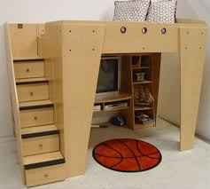full loft beds with desk furniture wonderful bunk bed with table underneath for children
