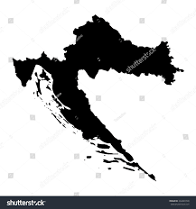 Puerto Rico Blank Map by Croatia Blank Map Stock Illustration 264649748 Shutterstock